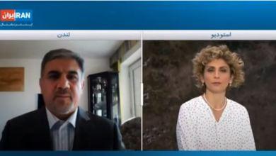 تصویر از مصاحبه با ایران اینترنشنال مورخ ۵ اکتبر ۲۰۲۰ درباره منازعه قره باغ