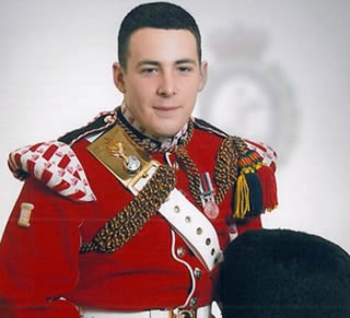 The murdered soldier has been named as 25-year-old Drummer Lee Rigby