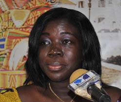 Mrs Elizabeth Ofosu-Adjare, Minister for Tourism, Culture and Creative Arts