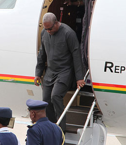 President-Mahama-Arriving