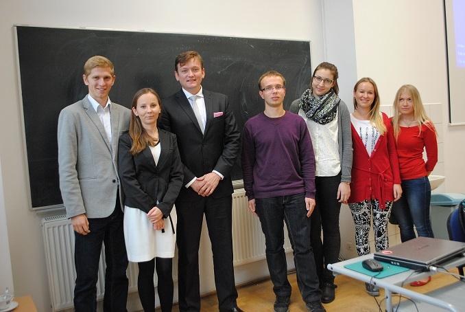 "Lectures ""Profession: Diplomat"" at Kozminski University and Gdańsk University of Technology"