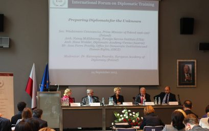 The International Forum on Diplomatic Training