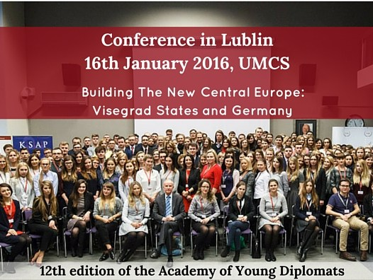 International Conference in Lublin – II session of the 12th edition of the Academy of Young Diplomats