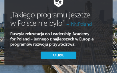 EAD Partnerem Nominującym Leadership Academy for Poland