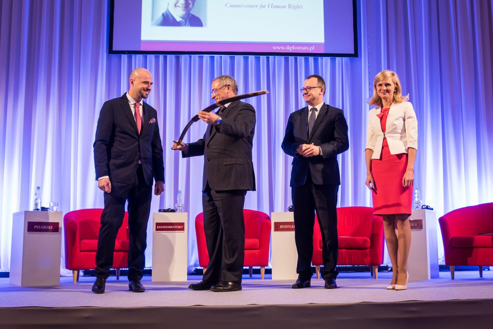 Mikhail Khodorkovsky at EAD Inauguration