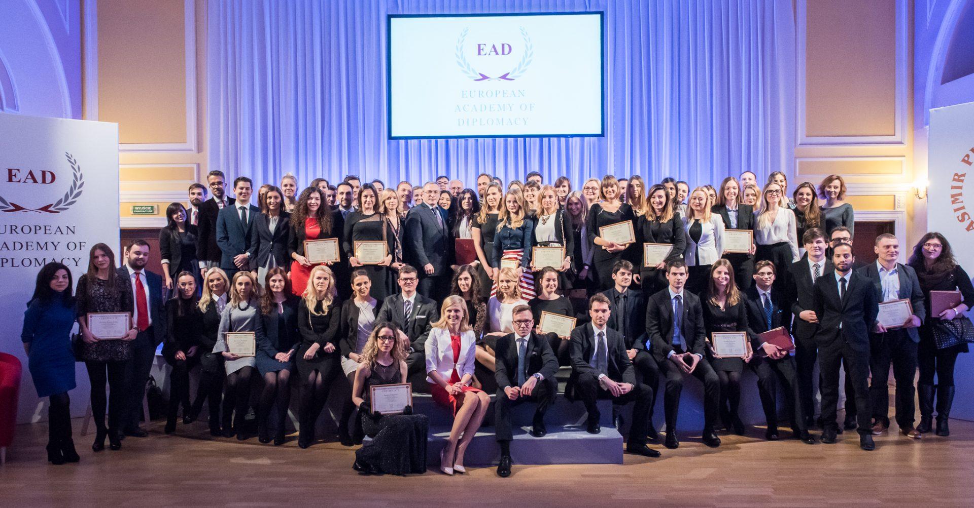 Uroczyste zakończenie XII edycji Akademii Młodych Dyplomatów