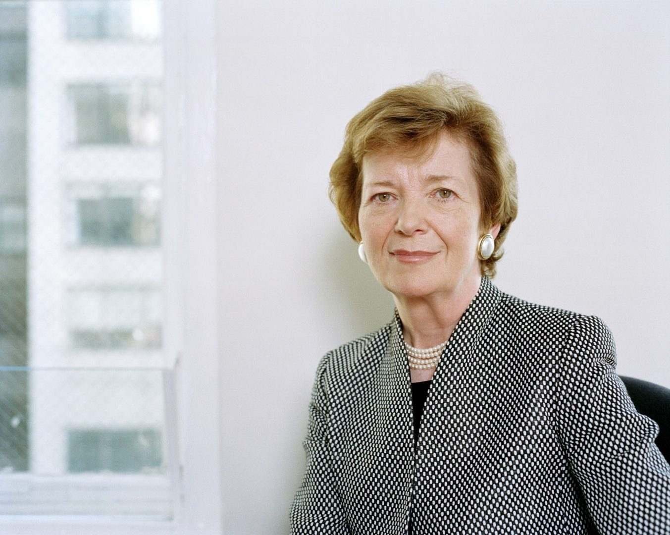 Her Excellency Mary Robinson Guest of Honour of the Academy of Young Diplomats!