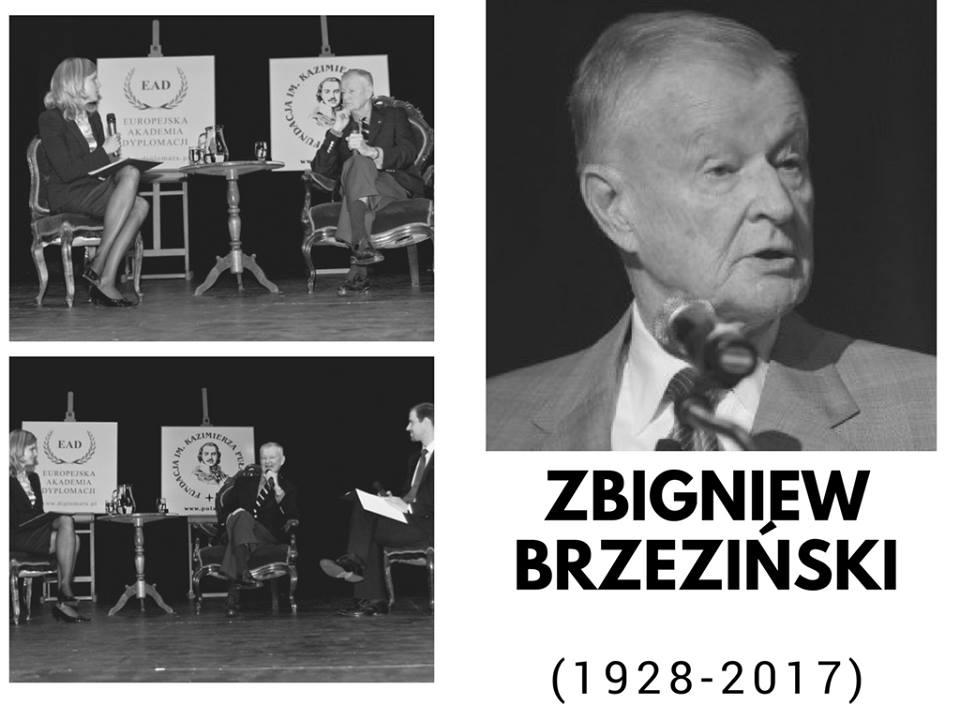 Farewell to Prof. Zbigniew Brzezinski