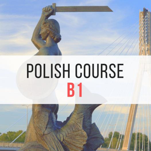Polish for diplomats B1