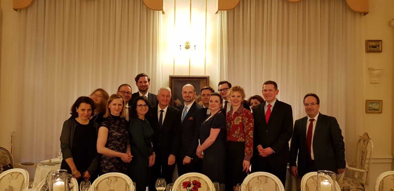 Spotkanie zSG Rady Europy, Thorbjørnem Jaglandem