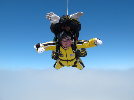 Amb Rivkin Parachute jump