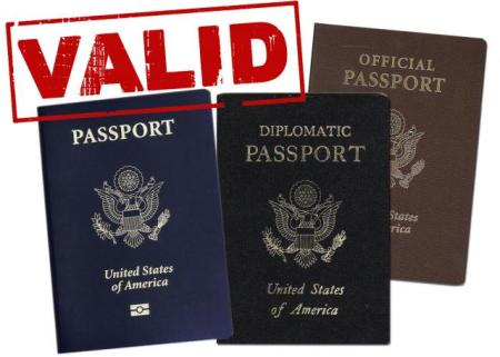 The blue tourist passport is the only passport that can be used by U.S. citizens for leisure travel abroad. A no-fee passport looks identical to a tourist passport, but it can only be used for dependents who are traveling with their sponsor to an overseas duty station. Turn to page 26. If there is an amendment in the back of the passport, it is a no-fee passport. No-fee, official and diplomatic passports cannot be used for personal travel.