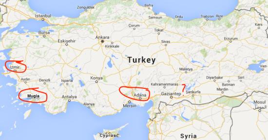 U.S. Consulate Adana and All DOD Dependents in Incirlik, Izmir ...