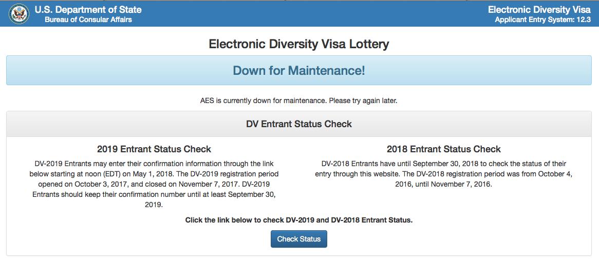 Diversity Visa Lottery Program Diplopundit