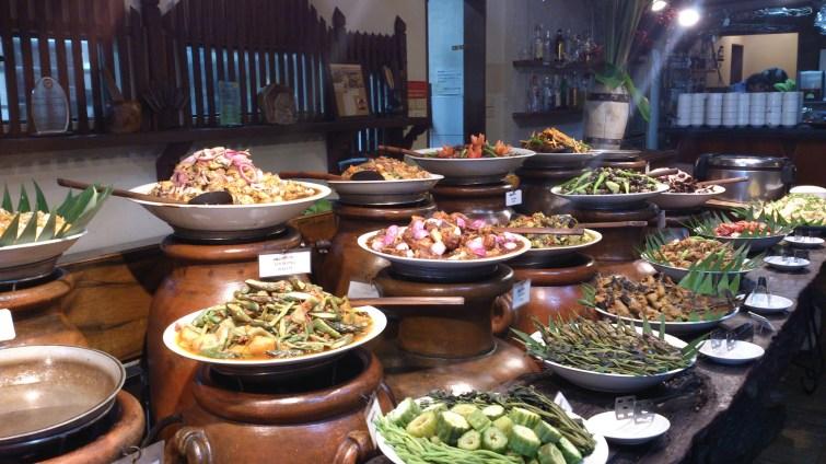 The Buffet at Bale Capampangan
