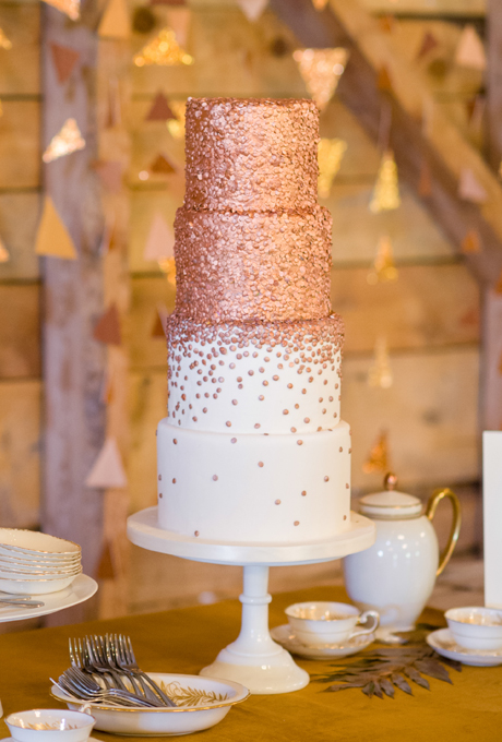 2015 Wedding Cake Trends     Dipped In Lace 2015 Wedding Cake Trends 11