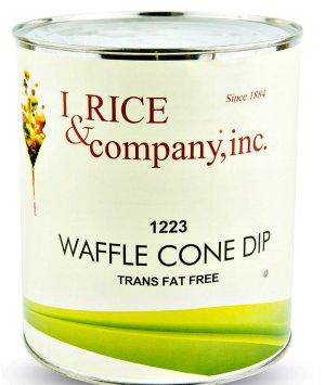 I.Rice Waffle Cone Dip