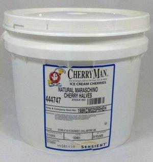 CherryMan® Maraschino Cherry Halves | ZBB190