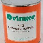 Caramel Fudge Topping   ZMS413C