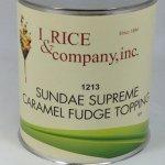 Caramel Fudge Topping   ZRC602