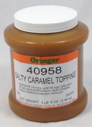 Salty Caramel Topping | ZCF058