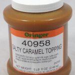 Salty Caramel Topping   ZCF058