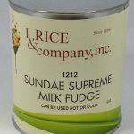 Sundae Supreme Milk Hot Fudge Topping | ZRC600