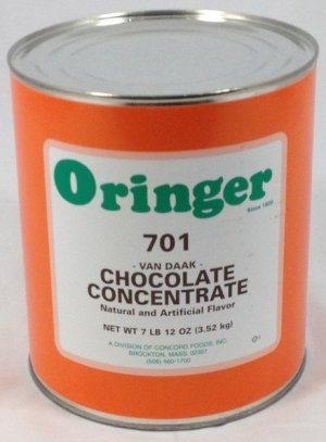 Van Daak Chocolate   ZCF701