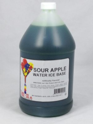 Sour Apple Water Ice Base | ZRC010