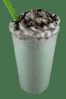 Green Mint Ice Cream Shake