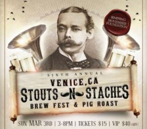 Stouts N Staches Brew Fest @ Club Venice