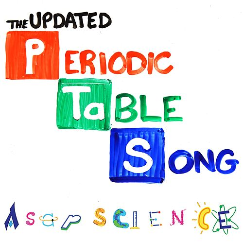 The New Periodic Table Song Single By AsapSCIENCE