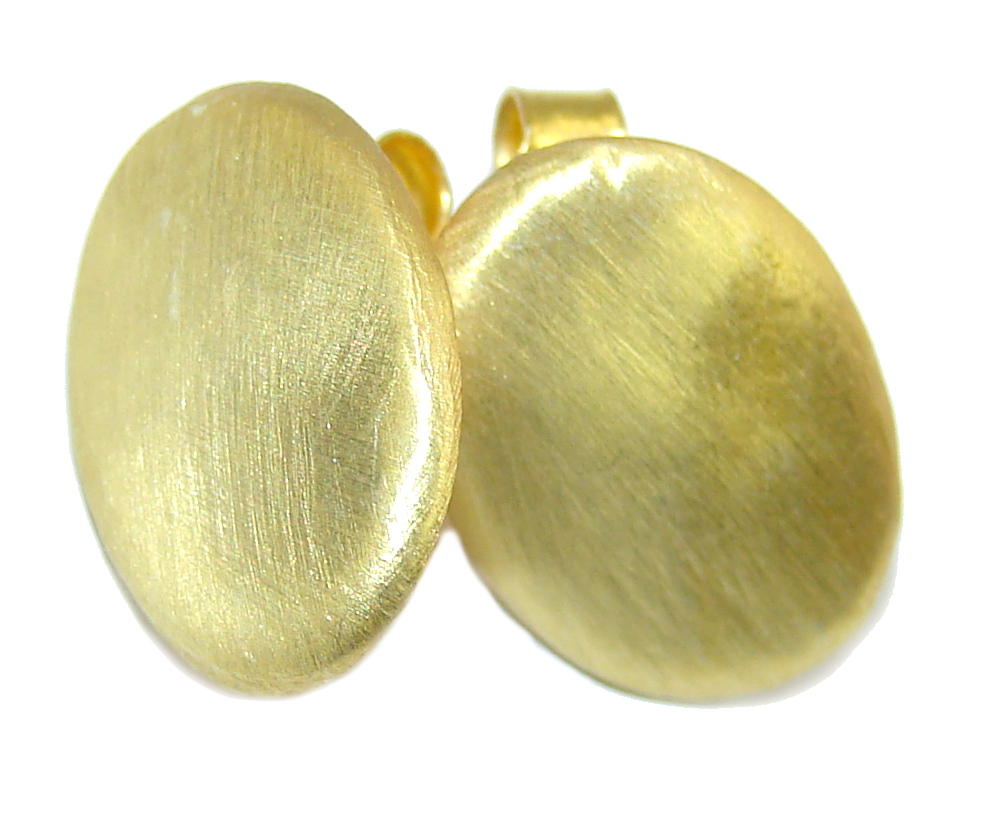 Delicate Gold plated Sterling Silver earrings