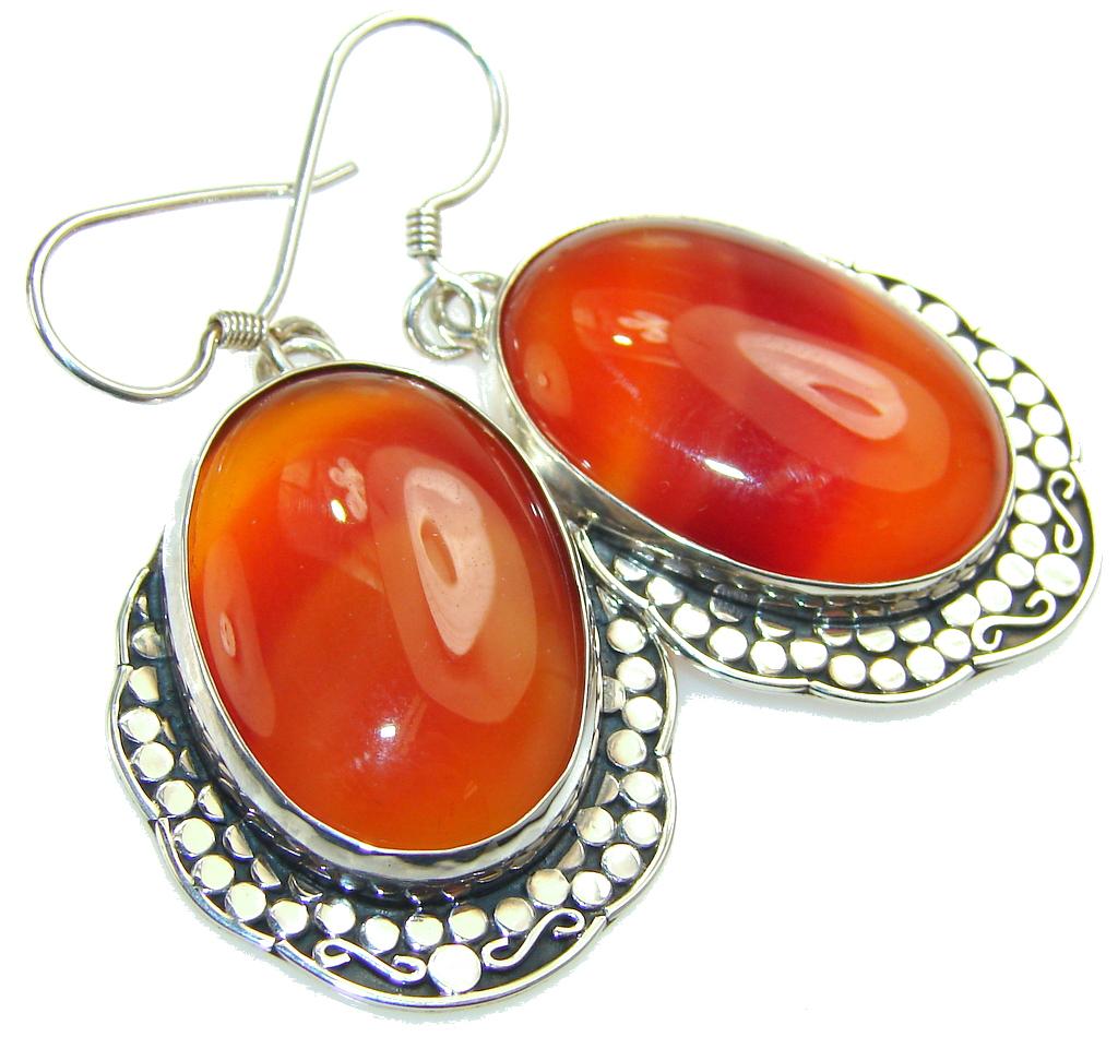 Living Forest!! Botswana Agate Sterling Silver earrings