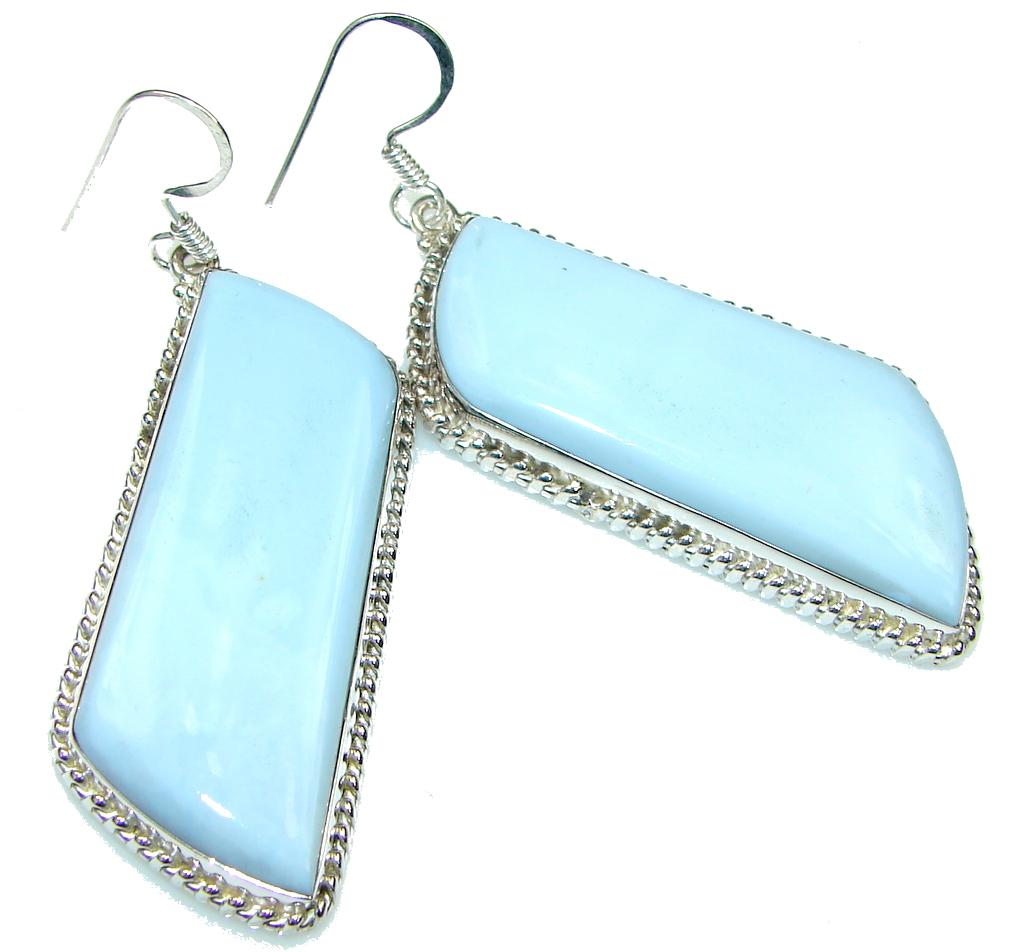 Secret! Blue Lace Agate Sterling Silver earrings
