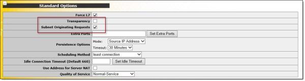 DirectAccess Single NIC Load Balancing with Kemp LoadMaster