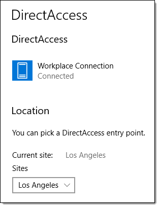 DirectAccess Troubleshooting and the Windows 10 Network Connectivity Assistant