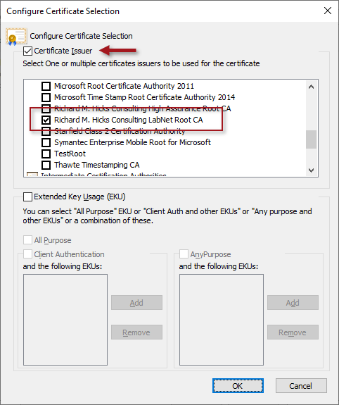 Always On VPN Users Prompted for Certificate