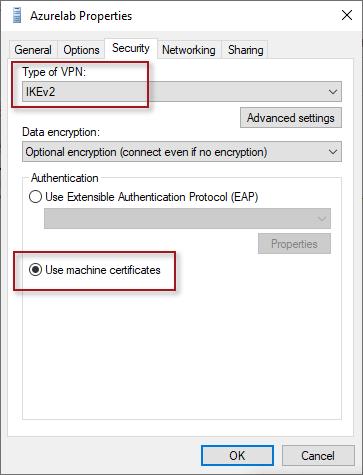 Always On VPN Device Tunnel with Azure VPN Gateway