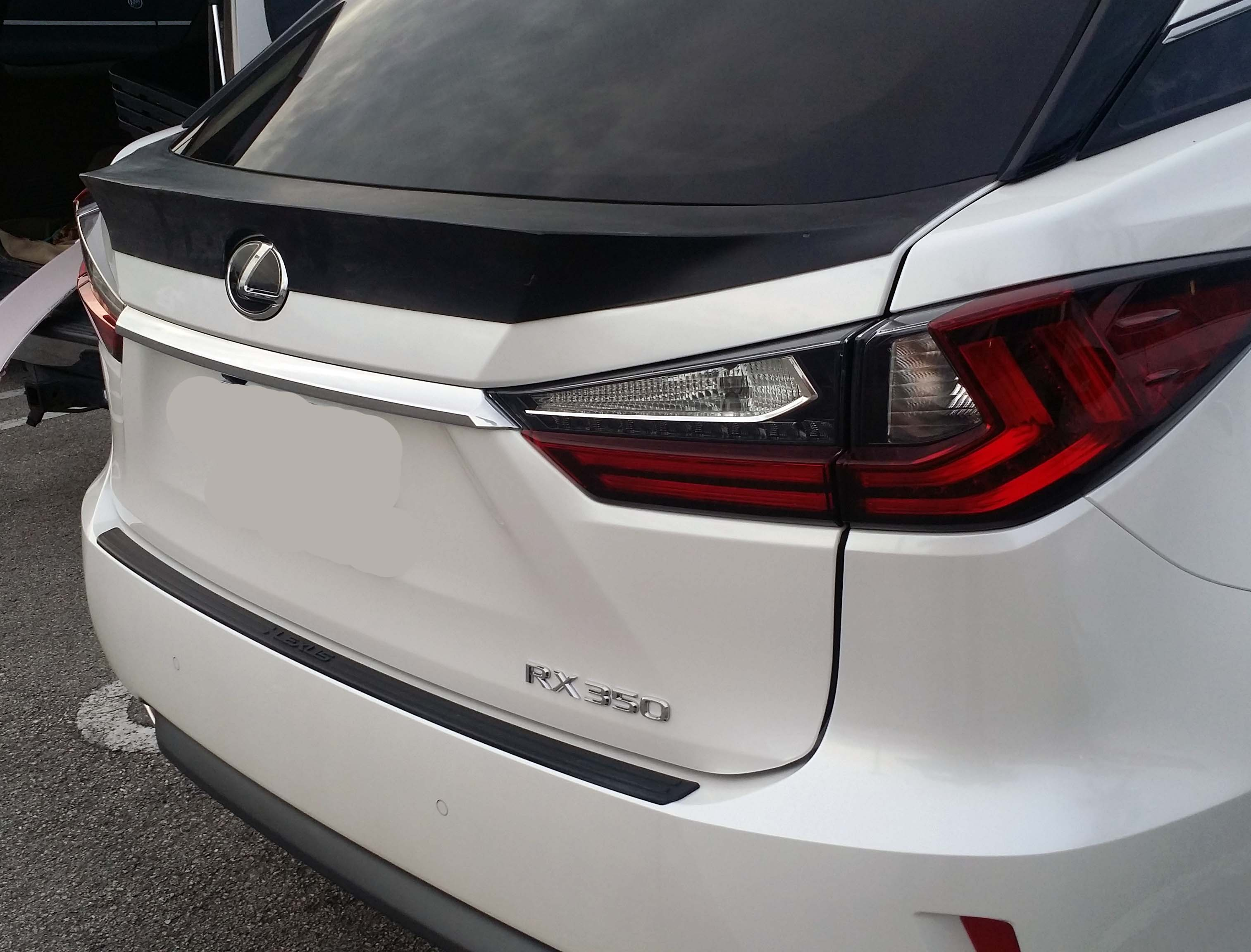 2015 2016 Lexus RX350 Tesoro Rear Trunk Lip Spoiler