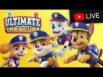 🔴PAW Patrol 24/7! ULTIMATE RESCUE Episodes - Kids Cartoons!