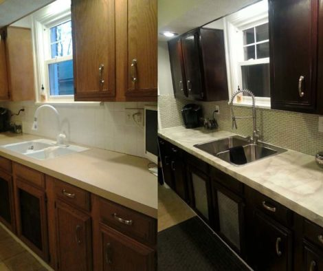 Overlay Formica Kitchen Countertop