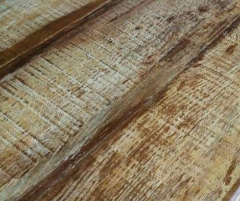 How to Stain Concrete Countertops to Look Like Wood