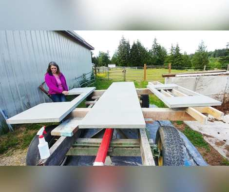 Prepare Concrete Surface For Acid Stain