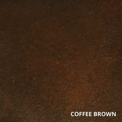 Coffee Brown Concrete Acid Stain Swatch