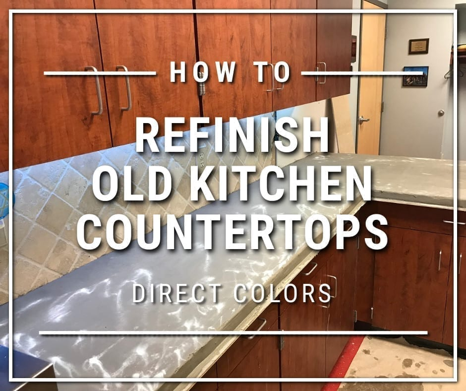 How to Refinish Old Kitchen Countertops