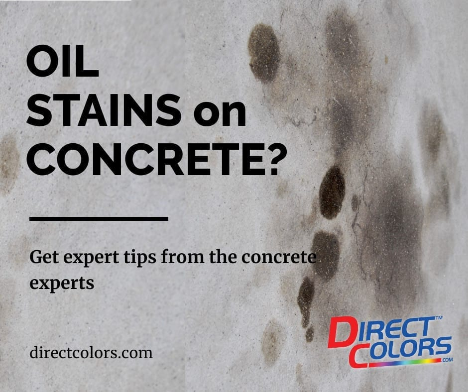 How to Remove Oil Stain from Concrete