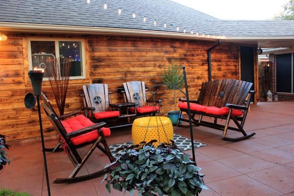 concrete patio ideas direct colors