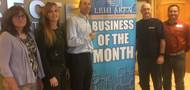 Directcom Named Lehi Area Business of the Month