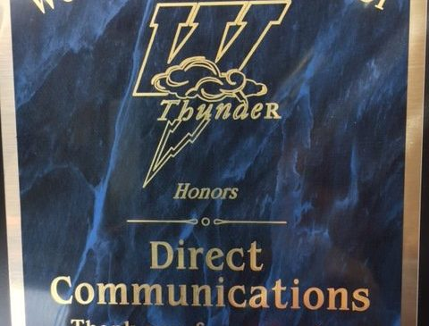 Directcom Recognized by Westlake High during Cool School of the Week with Fox 13.